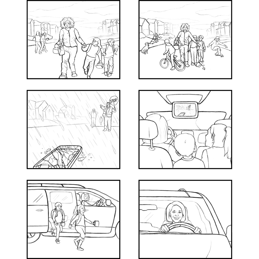 <b>Jenna Fischer's <i>The Actor's Life</i></b><br>Book Interior Storyboard<br>