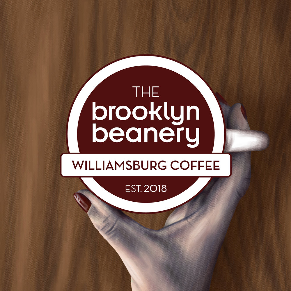 <b>The Brooklyn Beanery</b><br>Branding, Packaging, Poster<br>