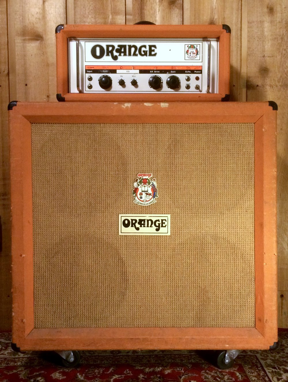 Orange OR-80 with PPC 4x12 Cab