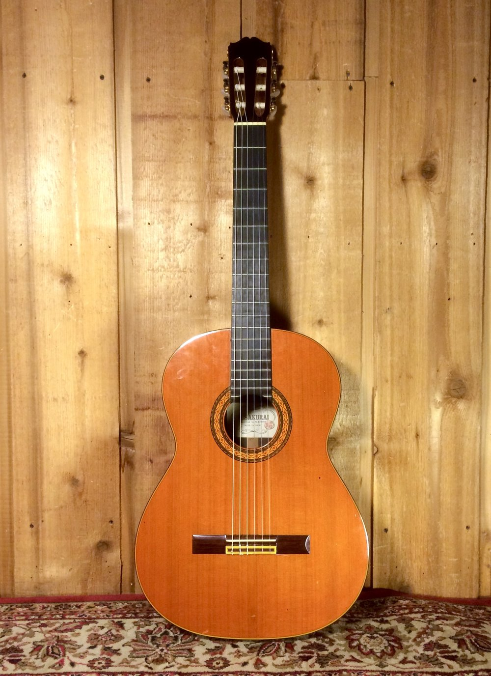 M Sakura Classical Guitar