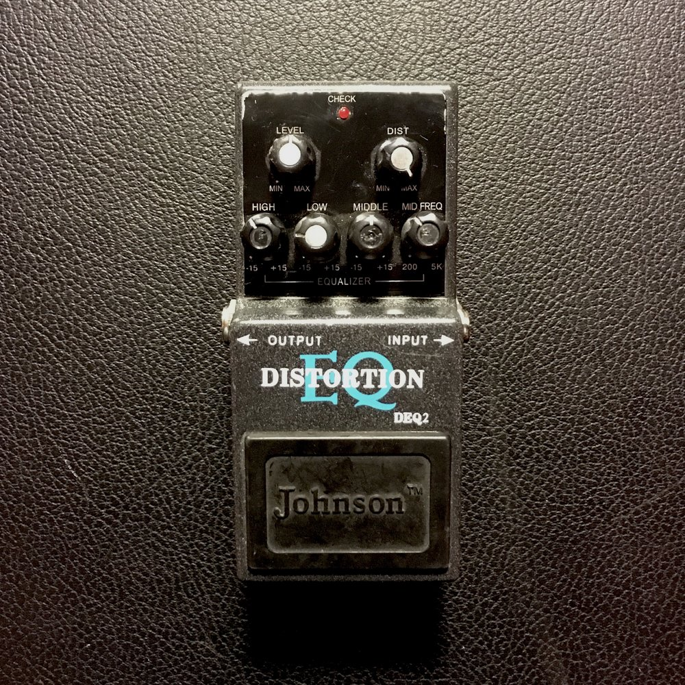 Johnson Distortion plus EQ