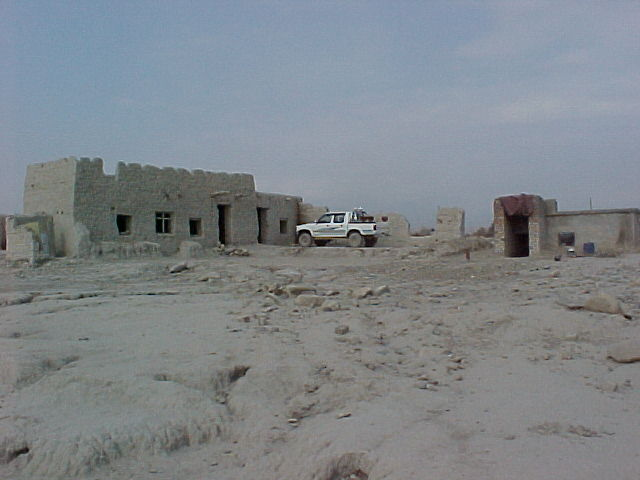 One of our temporary homes in Afghanistan