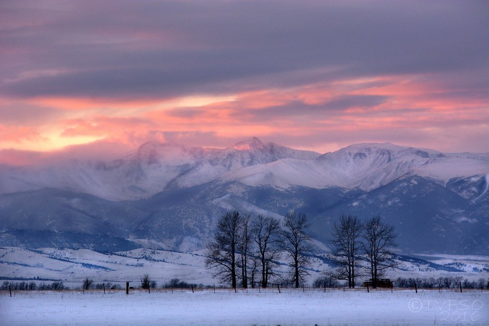 Absaroka Sunset