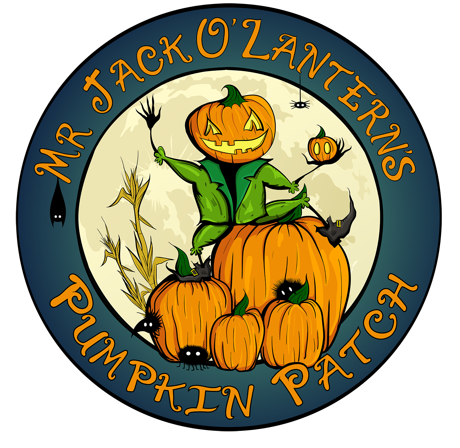 Mr. Jack O' Lanterns Pumpkins
