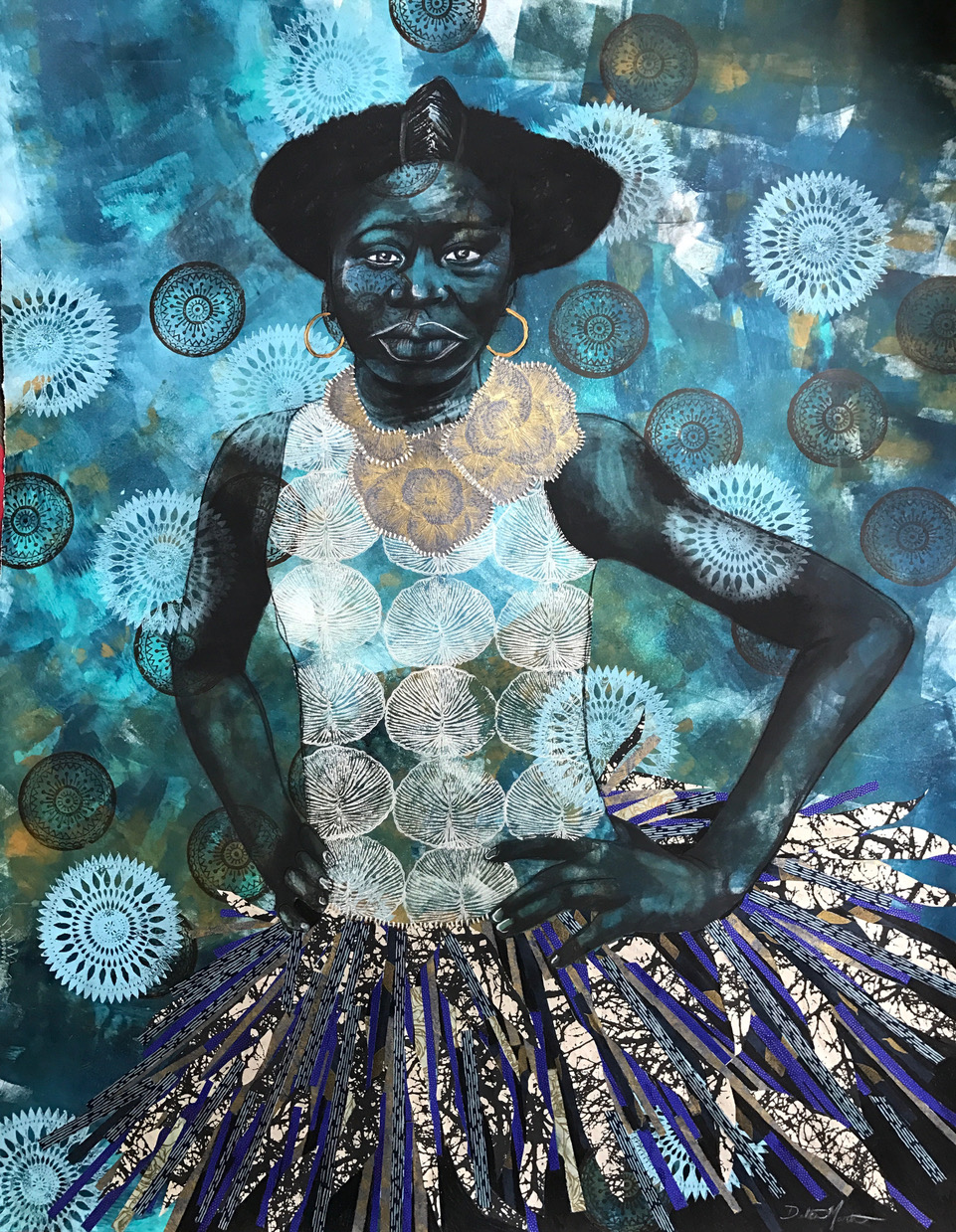 ROUX - Ann Johnson, Rabéa Ballin, Delita Martin and Lovie OliviaTogether, the artists of ROUX examine cultural and societal issues of genealogy, feminism, identity, & other topics affecting women of the African Diaspora.Image: If Spirits Danced,by Delita Martin