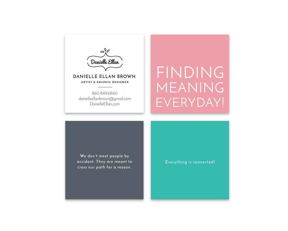 Danielle Ellan Business Cards