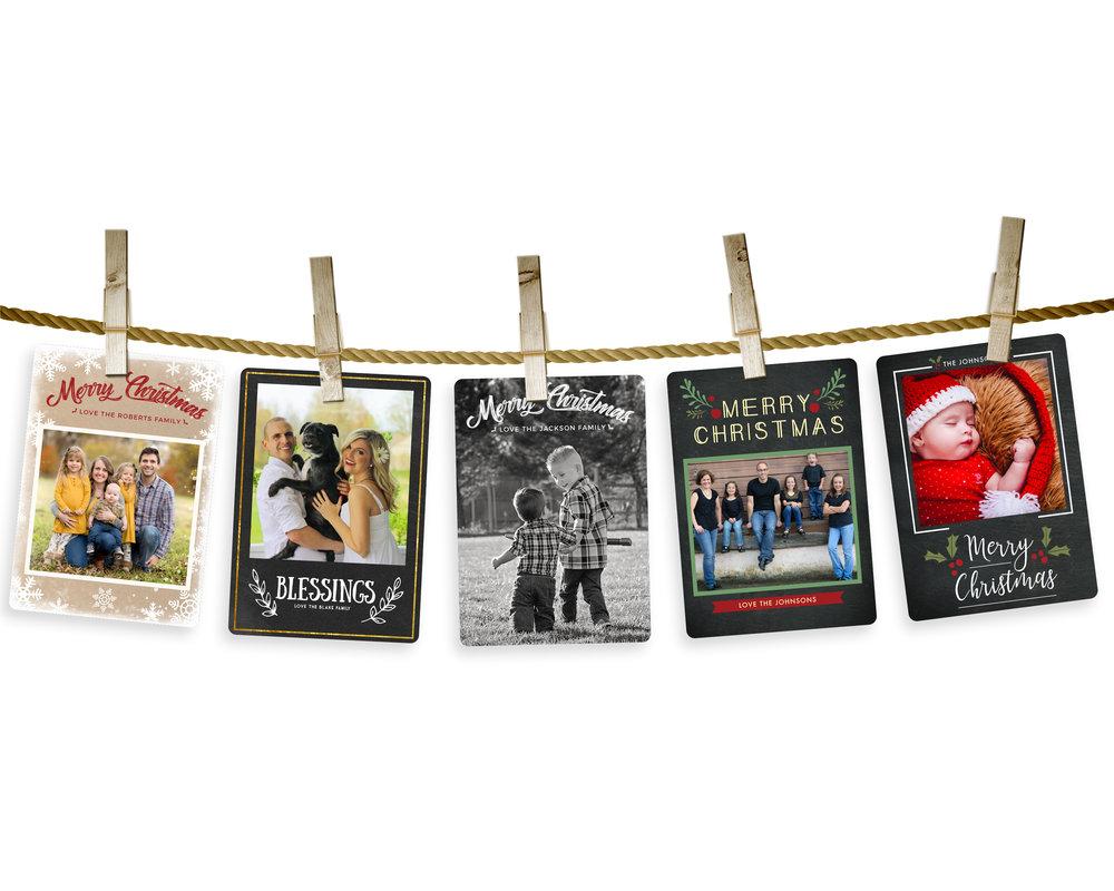 Christmas Cards by Danielle Ellan