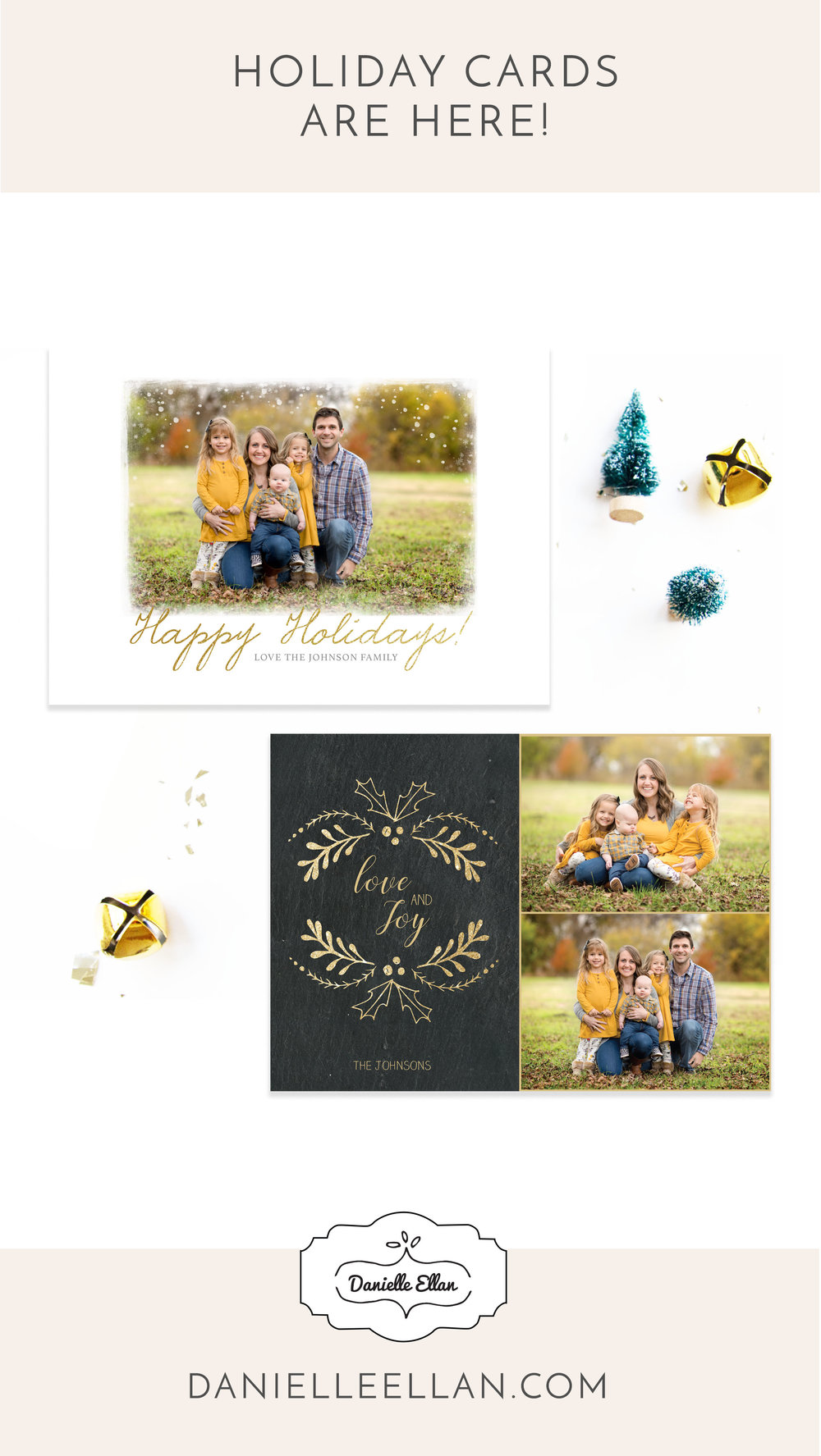 Holiday Cards by Danielle Ellan 2