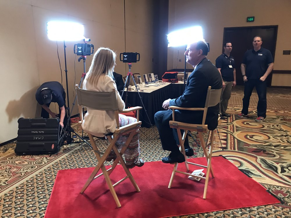 MARK MARTONY, Sports Announcer, as TVSB Program Host for the 2017 SBBE TVSB partnered with the Santa Barbara Business Network, providing filming and production for a special program to show on TVSB this summer.