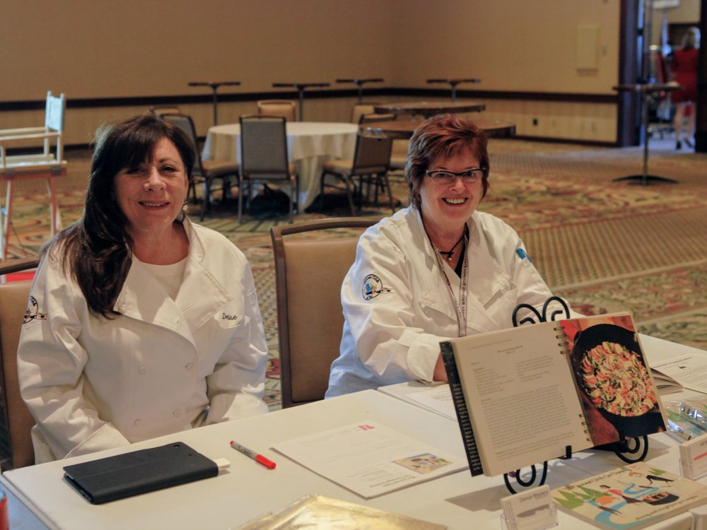 Gail KearnsDirector for Author's Showcase - Photo with Denise Woolery, Gourmet Girls On Fire