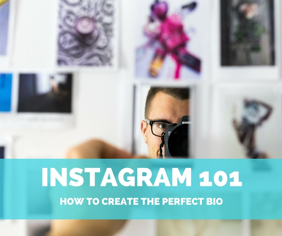 Getting started on Instagram 101 how to create the perfect bio, guy taking a picture #instagram #marketing #blogging