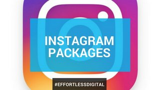 Packages for Instagram users of any level