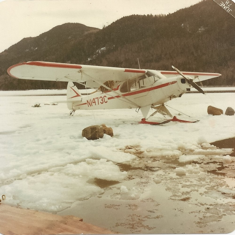 Super Cub 1473C, survivor of many close calls