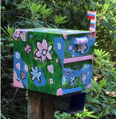 custom painted mailboxes