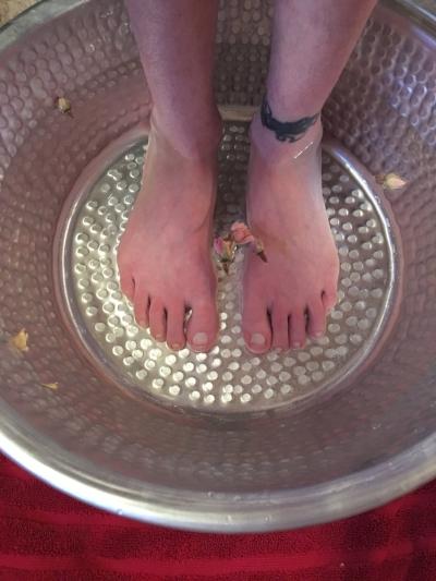 Aromatherapy Foot Bath Image Fargo Moorhead Area