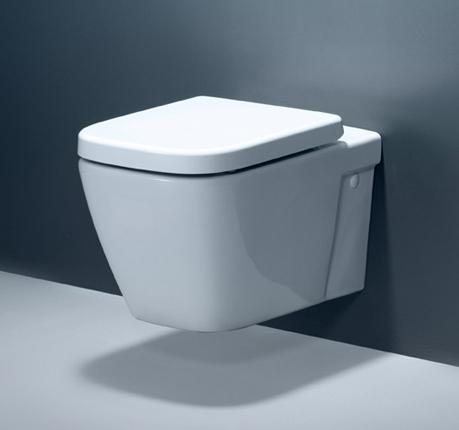 Caroma Invisi Cube in White