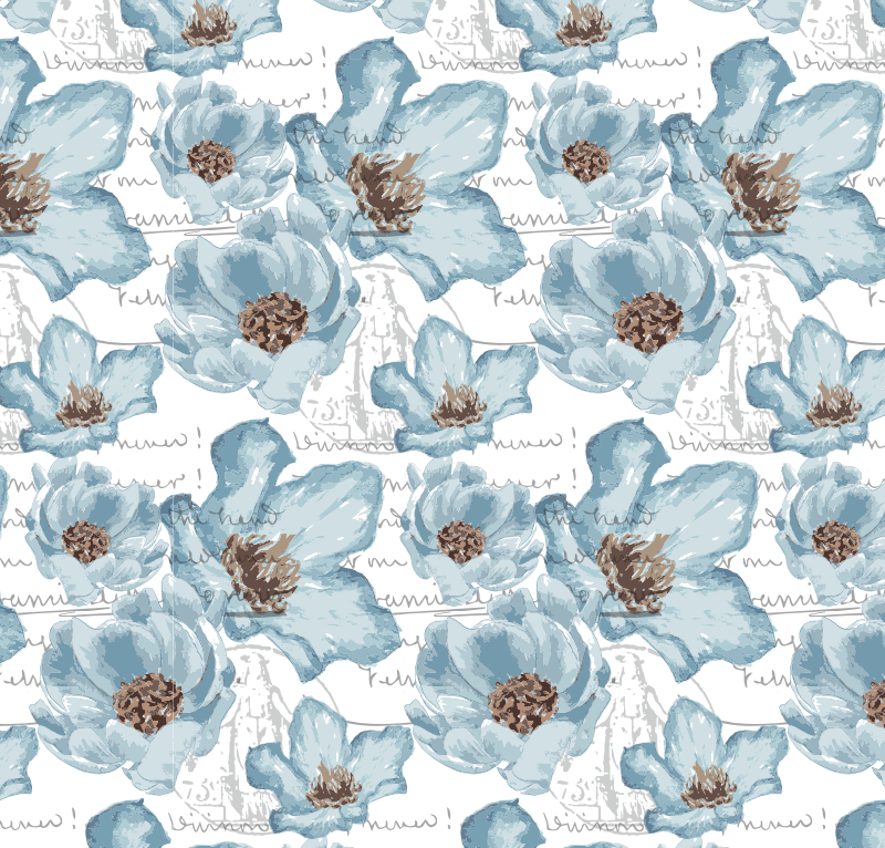 blueflowers_frenchscript_pattern_redstreake.png