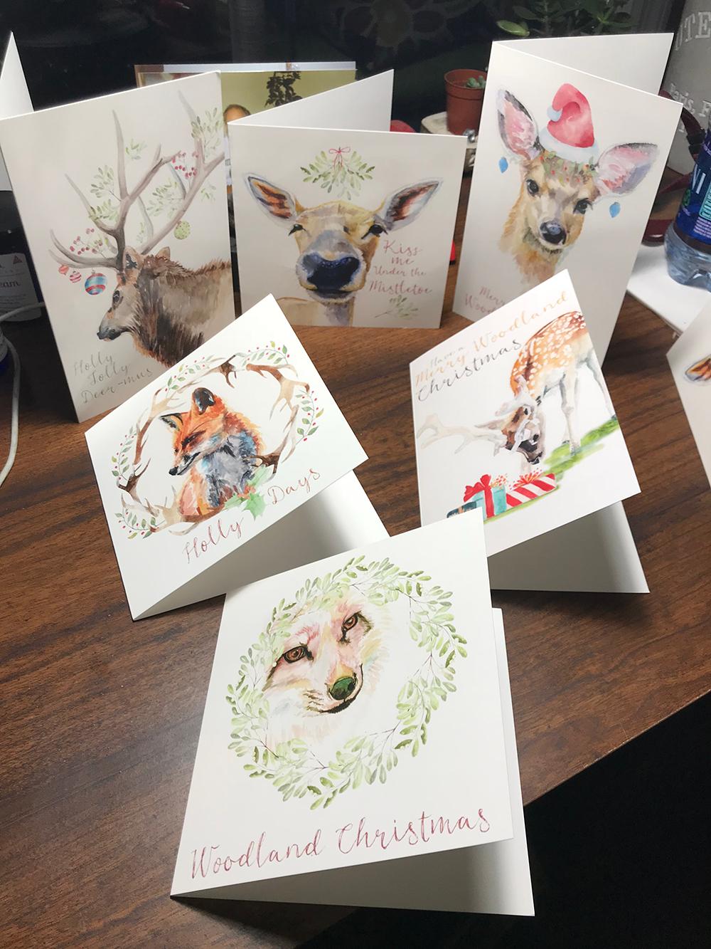 Christmas card set!