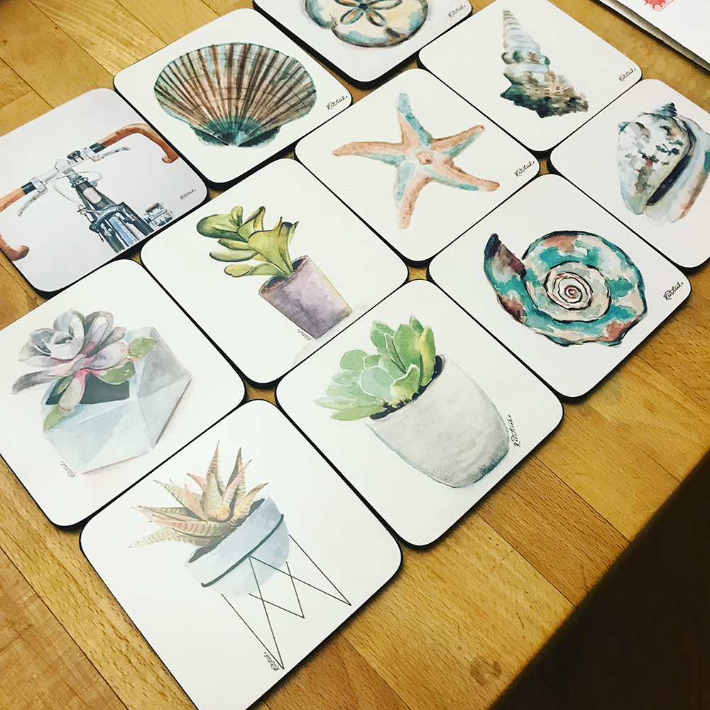 Coasters being sold in England
