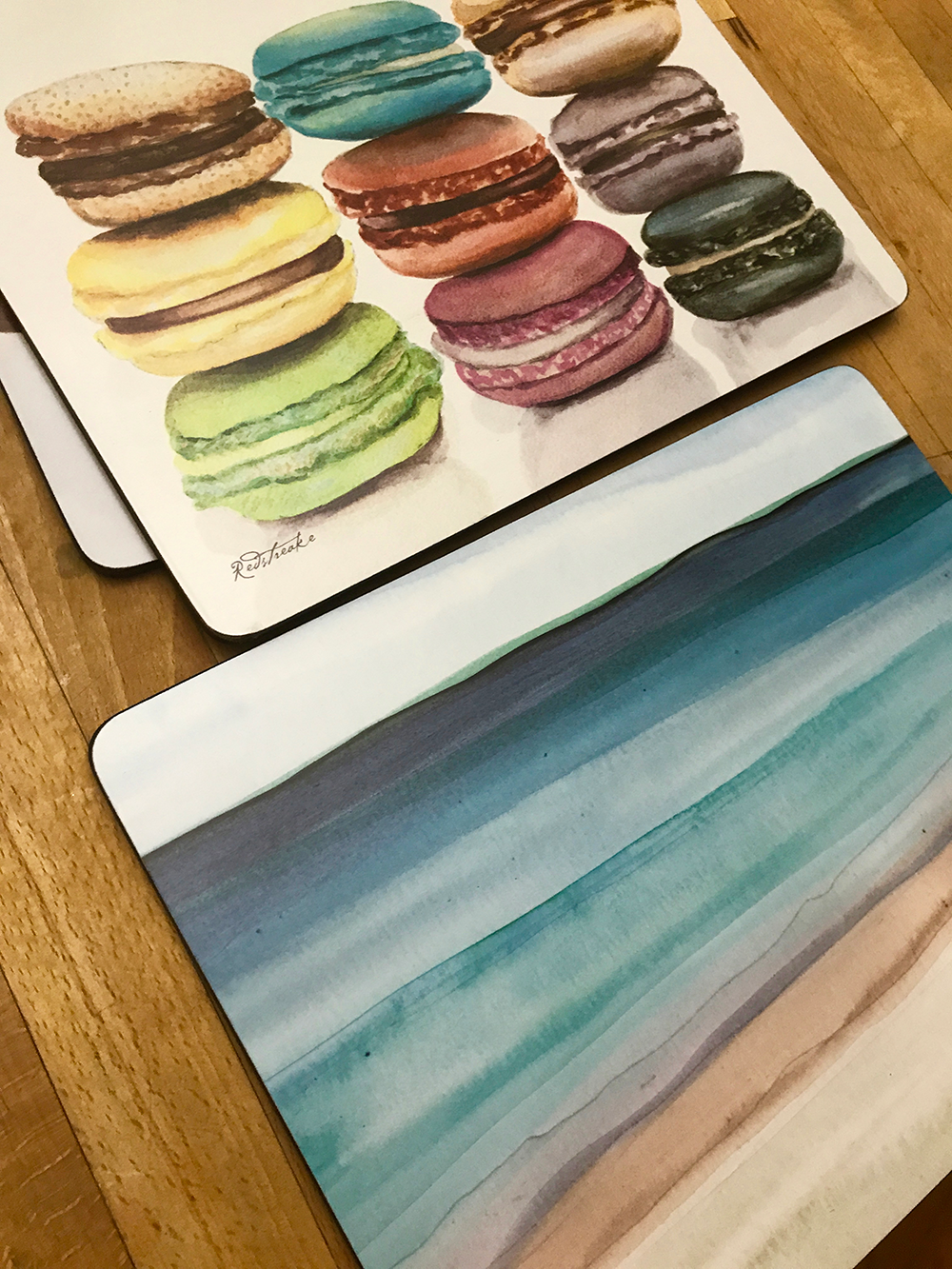 Placemats sold in England
