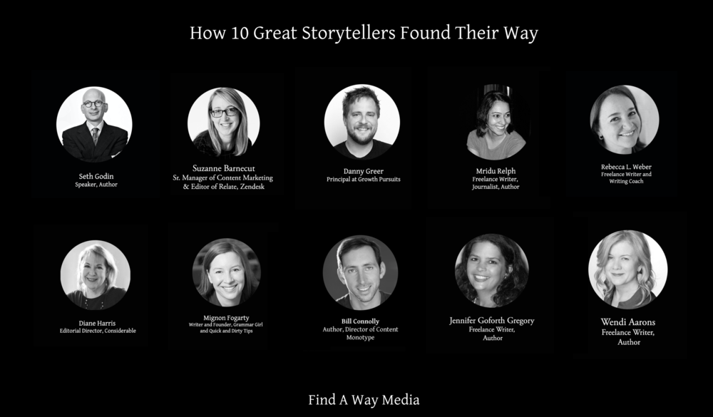 interviews with content marketing experts