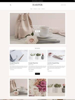Feminine Shopify Themes — styled digital — web design + development