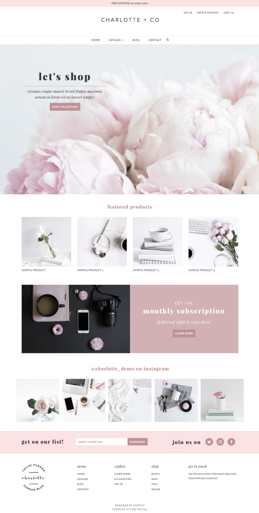 feminine-shopify-theme