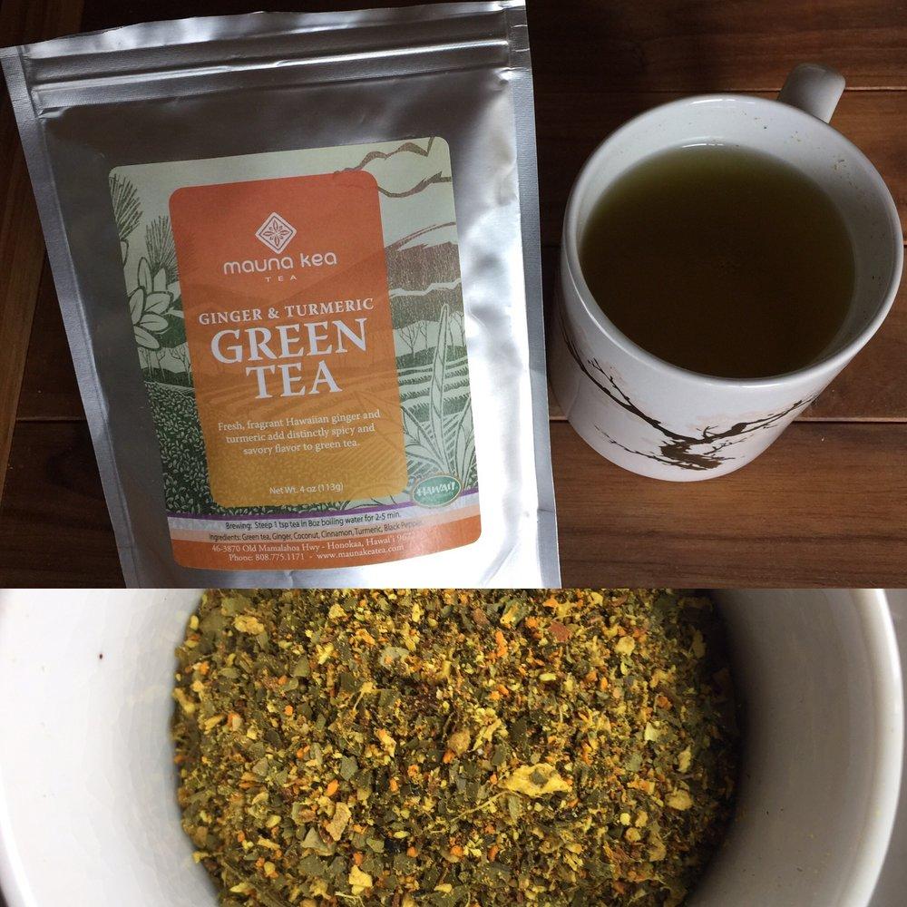 Turmeric & Ginger Green Tea