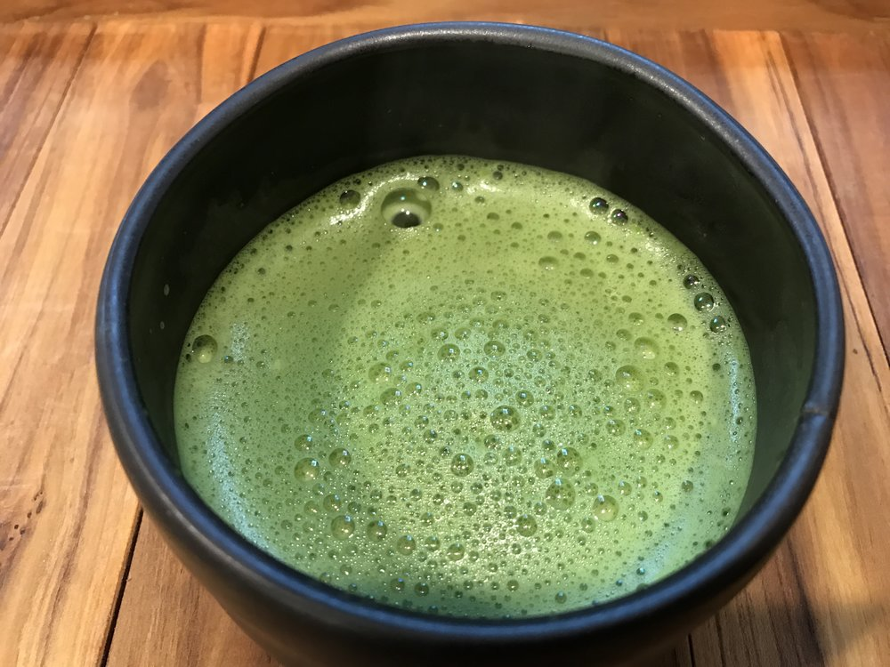 My usacha preparation from  encha organic matcha