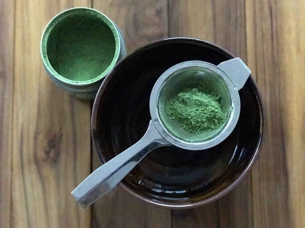 Sifting the Diamond Class Matcha