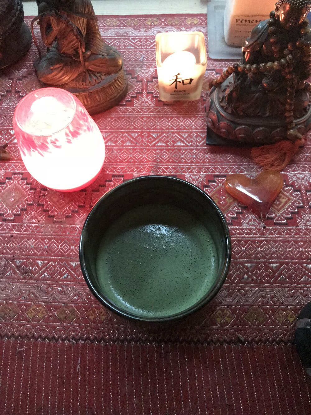 My Morning Matcha on My Alter