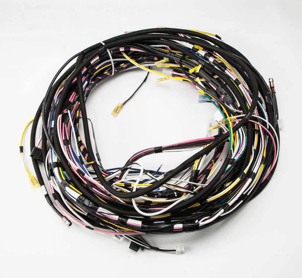 Wire Harnessing Electripack Crane Wiring Harness 04