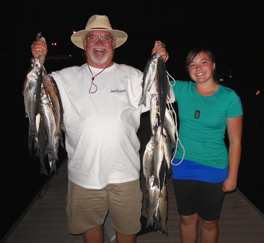 About - Get Ready to catch a ton of fish and have the time of your life! Our fishing boat departs every night at 6:30 pm$20 per person/hr