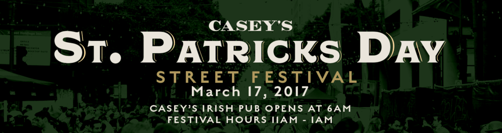 Get ready for the biggest St. Patrick's Day in Los Angeles at Casey's Irish Pub featuring 400 kegs of beer, 1200 bottles of Jameson, Irish fare (& pizza from  Pellicola Pizzeria ), plus a day of celebration with music from DTLA's favorite DJ's!    Casey's Irish Pub  opens at 6am, Festival starts at 11am. Entrance at Wilshire & Hope. Open to the public, 21+. FREE General Admission BEFORE 3:30pm. No bags allowed. Purses are subject to search.  Visit the Facebook Event Page to see who's going !