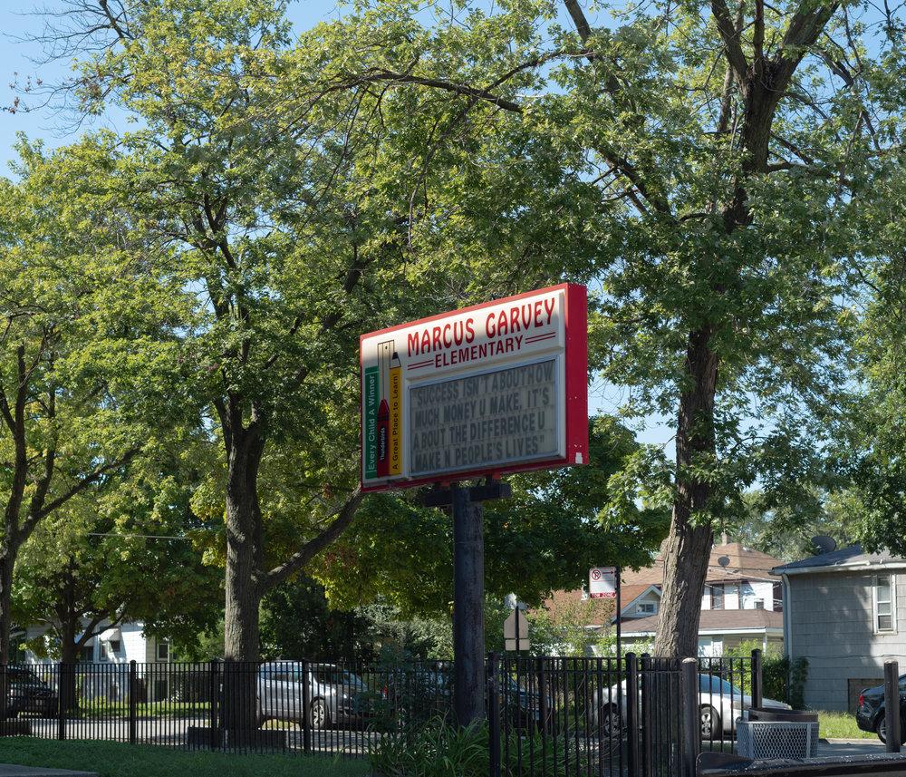 Marcus Garvey Elementary School, 2018
