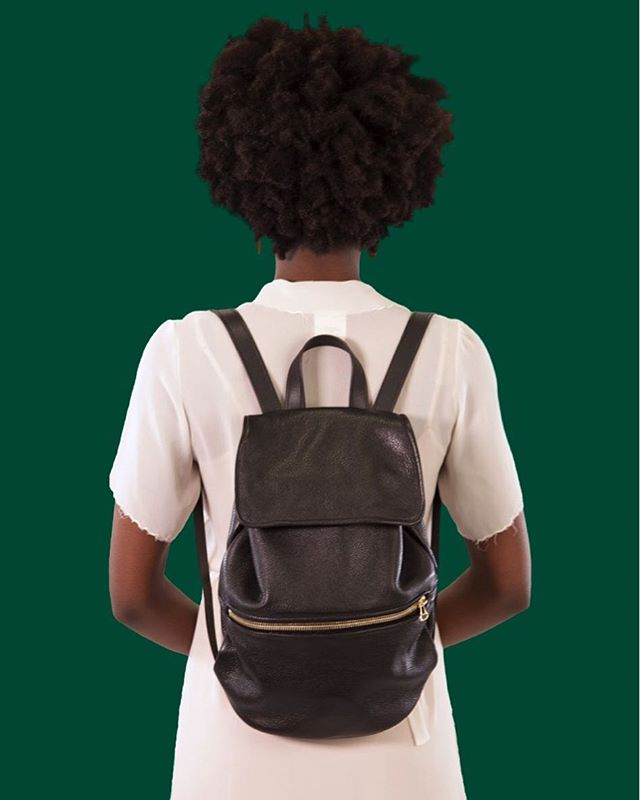 Evie Black | Black Back Pack | #fridayiminlove  Model @kellsgee  Shot by @pano_mama