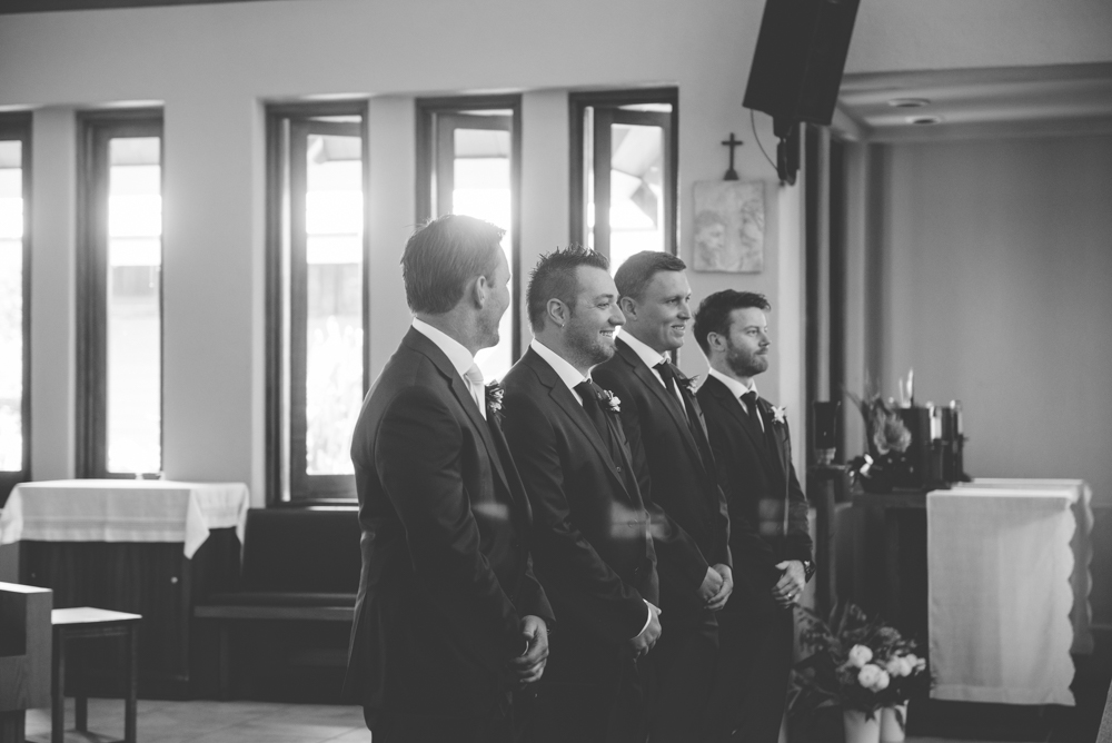 Groomsmen At Maui Wedding