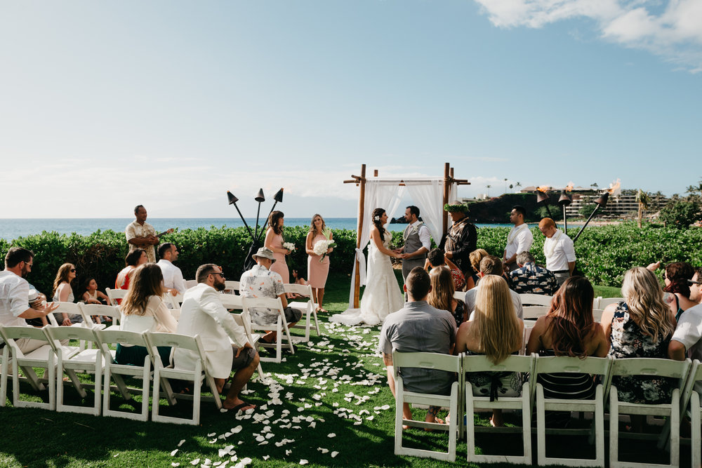 maui wedding ceremony