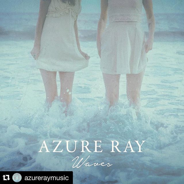"Congrats to @azureraymusic !!!! ❤️🔥❤️ #Repost @azureraymusic ・・・ We're excited to announce our new EP, Waves, out October 26th on @flowermoonrecords! Co-produced by @louisschefano. 🌊🌊🌊 Stream the first single, ""Palindrome,"" exclusively at @Stereogum [LINK IN BIO] #azureray"