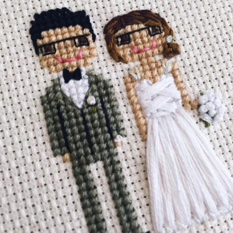 Cloth and Twig Wedding