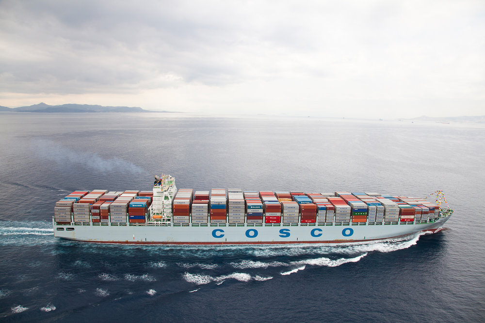 CONTAINER SHIP   Aerial Photoshoot