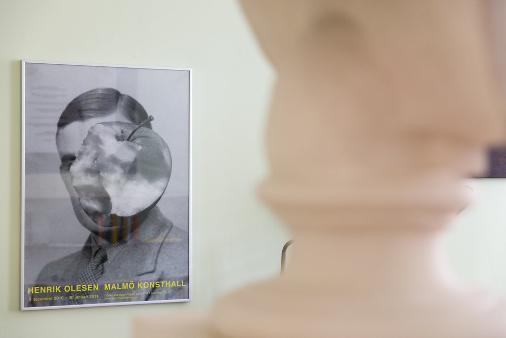 Portrait of Alan Turing, poster Henrik Olesen, Malmö Konsthall, 2011