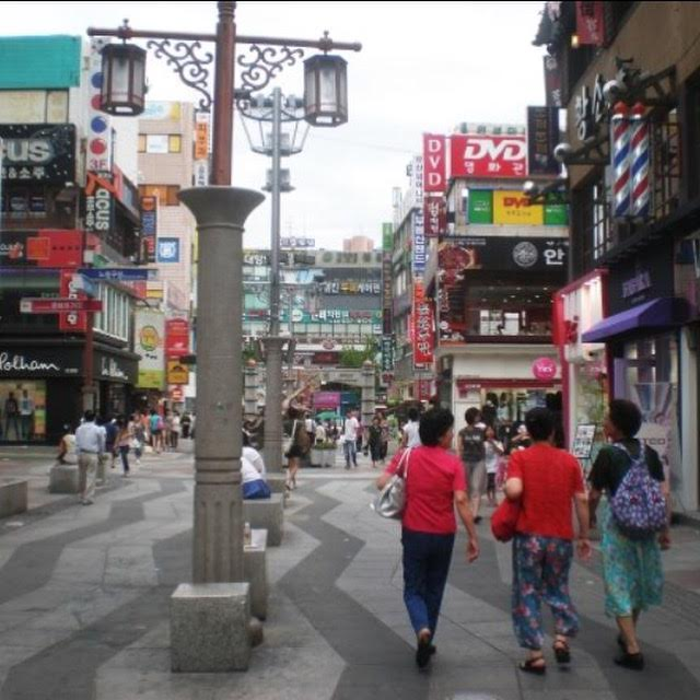 One of Jenn's neighborhoods in Seoul