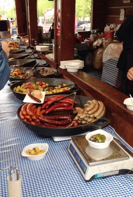 So much sausage!