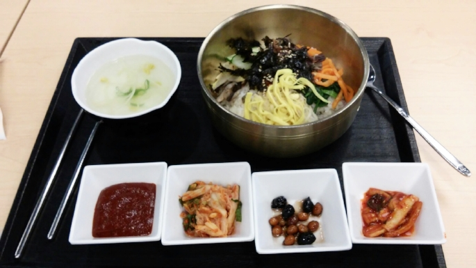 Bibimbap in South Korea