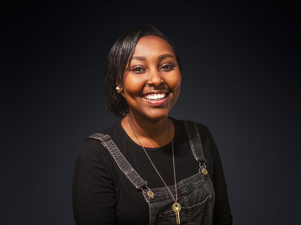 Ingrid Karega, la leader louange de l'église Home Lausanne.