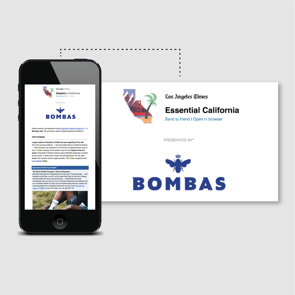 Bombas  in the Los Angeles Times