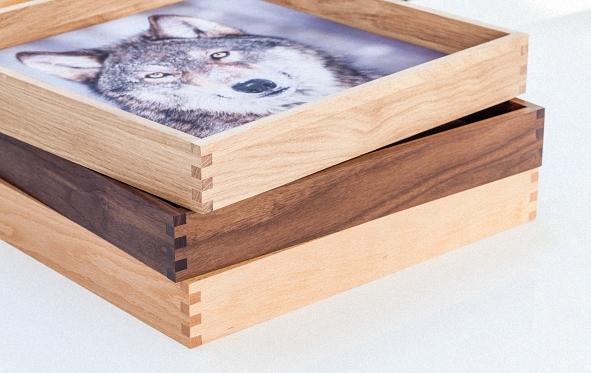 AFFITTO_Madero in drei verschiedenen Holzarten