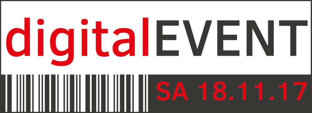 digitalEVENT Logo mit Rahmen, PNG