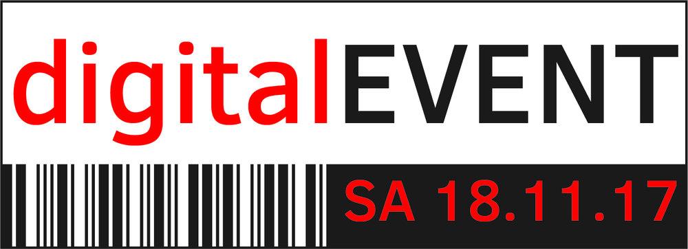 digitalEVENT Logo mit Rahmen, EPS